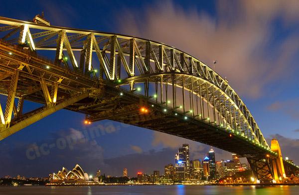 Австралия фото Харбор-Бридж. Описание Австралии