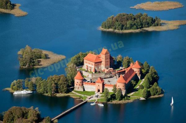 Литва, описание страны. Фото Литва, Тракай, Тракайский замок