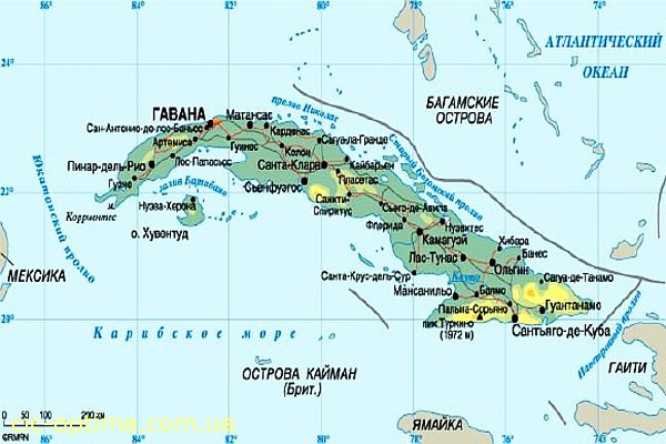 Религия на Кубе. Население Кубы. Фото Куба достопримечательности. Описание Гаваны. Отдых в Сантьяго-де-Куба. Кубинские пляжи фото